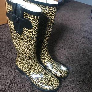 Aldo rain boots {worn once}